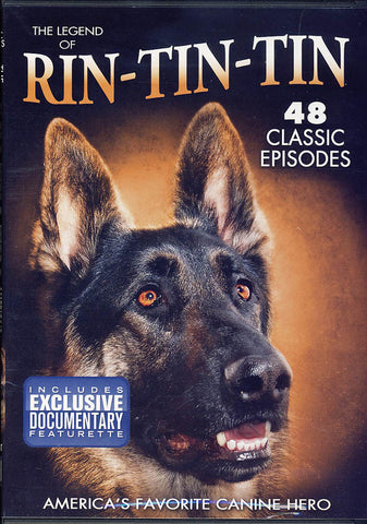 The Legend of Rin-Tin-Tin - America s Favorite Canine Hero DVD Movie