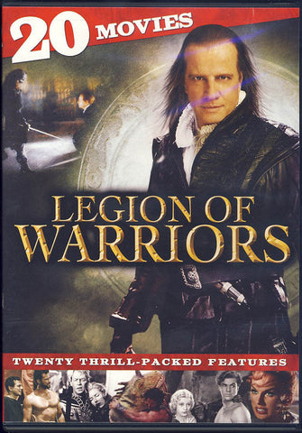 Legion Of Warriors - 20 Movie Collection (Boxset) DVD Movie