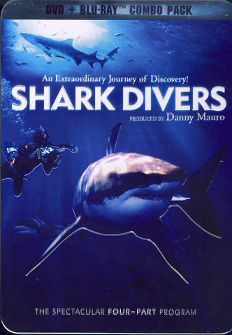 Shark Divers (DVD + Blu-ray)(Collectible Tin) (Blu-ray) BLU-RAY Movie