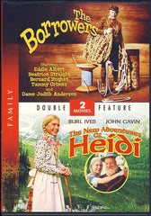 The Borrowers / The New Adventures Of Heidi (Double Feature) (Limit 1 copy)