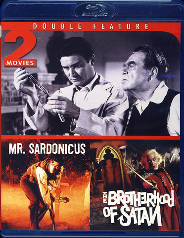 Mr. Sardonicus / Brotherhood of Satan (Blu-ray) (Limit 1 copy) BLU-RAY Movie