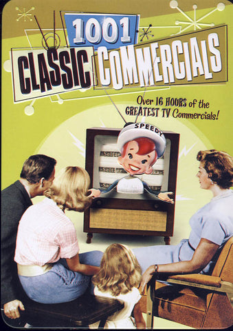 1001 Classic Commercials (Collectible Tin)(Boxset) (Limit 1 copy) DVD Movie