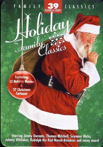Holiday Family Classics (Collectible Tin)(Boxset) (Limit 1 copy) DVD Movie