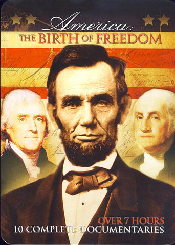America: The Birth of Freedom (Collectible Tin)(Boxset) (Limit 1 copy) DVD Movie