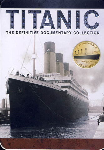 Titanic - The Definitive Documentary Collection (Collectible Tin)(Boxset) DVD Movie
