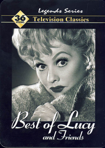 Best of Lucy and Friends (Collectible Tin)(Boxset) DVD Movie