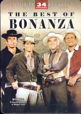 The Best of Bonanza (Collectible Tin)(Boxset) DVD Movie