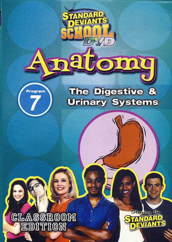 Standard Deviants School - Anatomy, Program 7 - The Digestive and Urinary Systems (Classroom Edition DVD Movie
