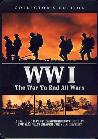 WWI - The War To End All Wars (Collectible Tin)(Boxset) DVD Movie