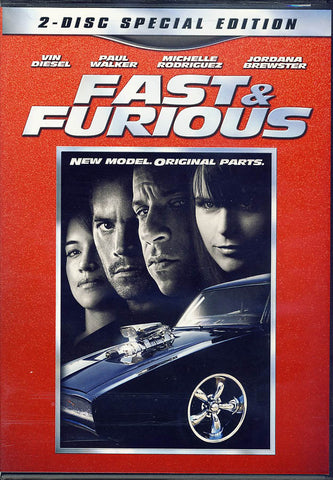 Fast And Furious (Two-Disc Special Edition) DVD Movie