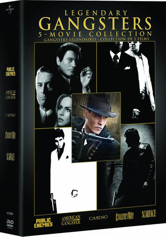 Legendary Gangsters (5-Movie Collection)(Boxset) DVD Movie