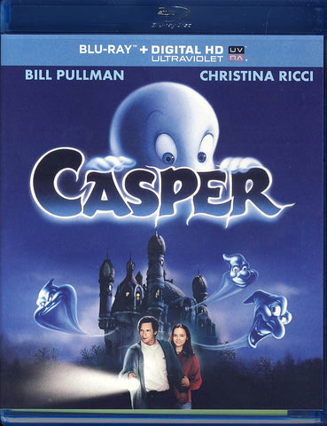 Casper (Blu-ray + DIGITAL HD with UltraViolet) (Blu-ray) BLU-RAY Movie