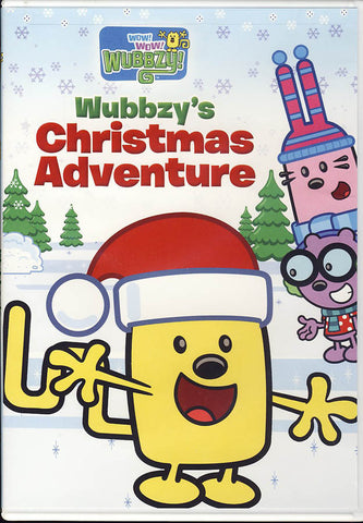 Wow! Wow! Wubbzy! - Wubbzy's Christmas Adventure DVD Movie