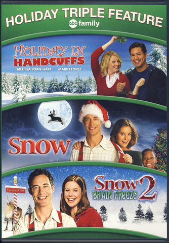 Holiday in Handcuffs / Snow / Snow 2 - Brain Freeze DVD Movie