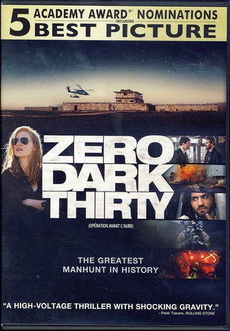 Zero Dark Thirty (Bilingual) DVD Movie