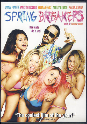 Spring Breakers (Bilingual) DVD Movie