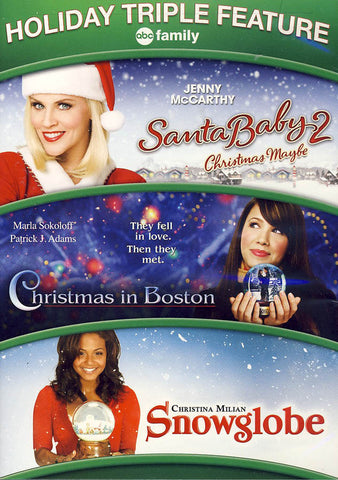Santa Baby 2 - Christmas Maybe / Christmas in Boston / Snowglobe DVD Movie