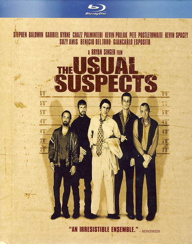 Usual Suspects (BD+Book)(Blu-ray) (Bilingual) BLU-RAY Movie