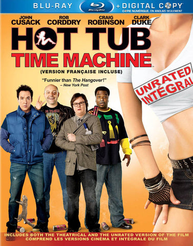 Hot Tub Time Machine (Blu-ray + Digital Copy) (Blu-ray) (Bilingual) BLU-RAY Movie