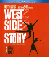 West Side Story:50th Anniversary Edition (Blu-ray + DVD)(Blu-ray)(Bilingual)
