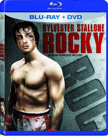 Rocky (Blu-ray + DVD) (Blu-ray) (Bilingual) BLU-RAY Movie
