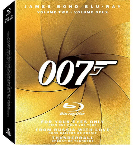 The James Bond Collection, Vol. 2 (Boxset) (Blu-ray) (Bilingual) BLU-RAY Movie