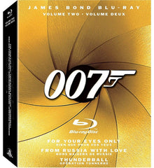 The James Bond Collection, Vol. 2 (Boxset) (Blu-ray) (Bilingual)