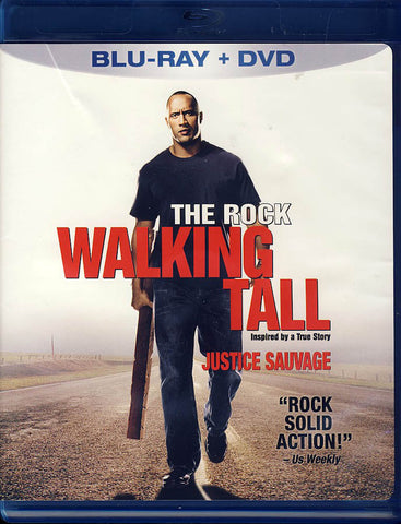 Walking Tall (Blu-ray + DVD) (Blu-ray) (Bilingual) BLU-RAY Movie