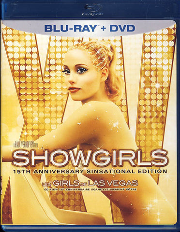Showgirls:15th Anniversary Edition (Blu-ray+ DVD) (Blu-ray) (Bilingual) BLU-RAY Movie
