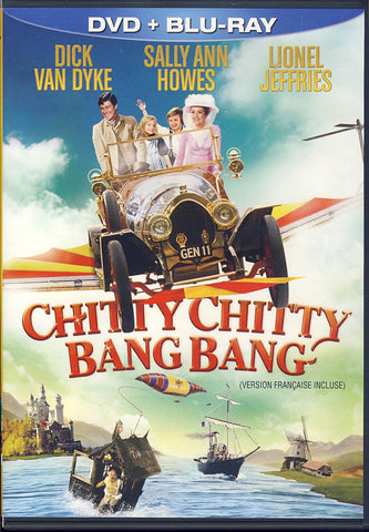 Chitty Chitty Bang Bang (DVD+Blu-ray) (Blu-ray) (Bilingual) BLU-RAY Movie
