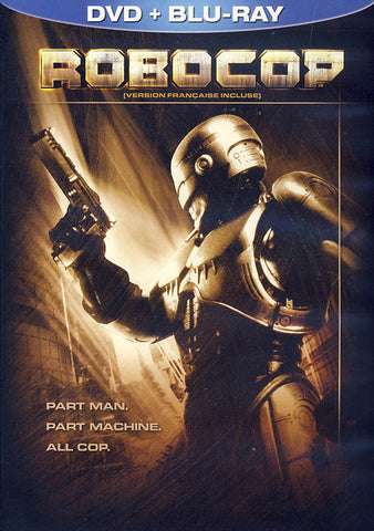 Robocop (DVD+Blu-ray) (Bilingual) (Blu-ray) BLU-RAY Movie
