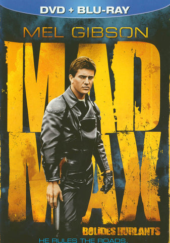 Mad Max (DVD+Blu-ray) (Blu-ray) (Bilingual) (DVD Case) BLU-RAY Movie