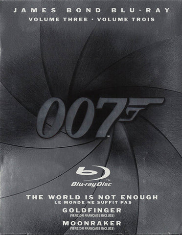 The James Bond Collection, Vol 3 (Blu-ray)(Bilingual)(Boxset) BLU-RAY Movie