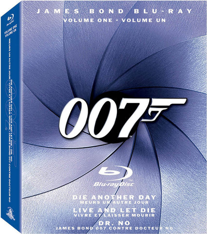 The James Bond Collection, Vol. 1 (Boxset) (Blu-ray) (Bilingual) BLU-RAY Movie