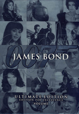 James Bond Ultimate Edition: Vol. 4 (Boxset) (Bilingual) DVD Movie