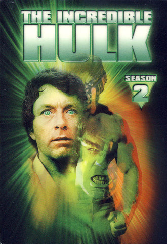 The Incredible Hulk: Season 2 (With Lenticular Cover) (Boxset) DVD Movie