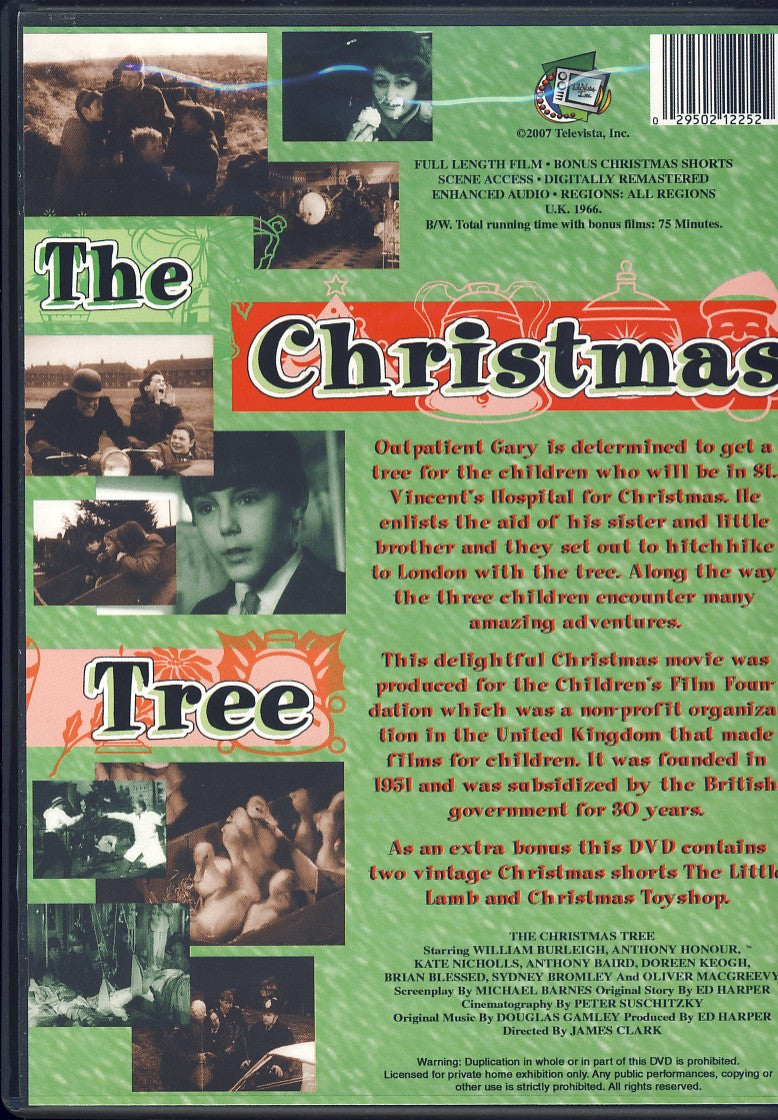 The Christmas Tree The Children S Film Foundation On Dvd Movie
