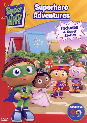 Super Why - Superhero Adventures DVD Movie