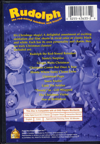 Rudolph the red-nosed reindeer and friends DVD Movie