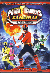 Power Rangers Samurai Volume 2: A New Enemy (Bilingual)