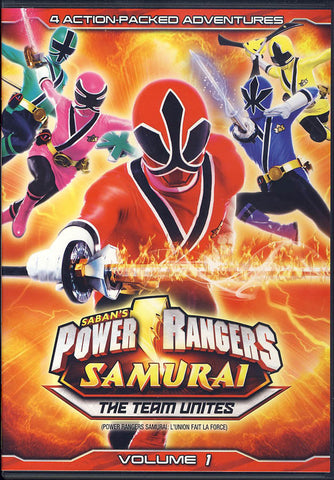Power Rangers Samurai Volume 1: The Team Unites (Bilingual) DVD Movie