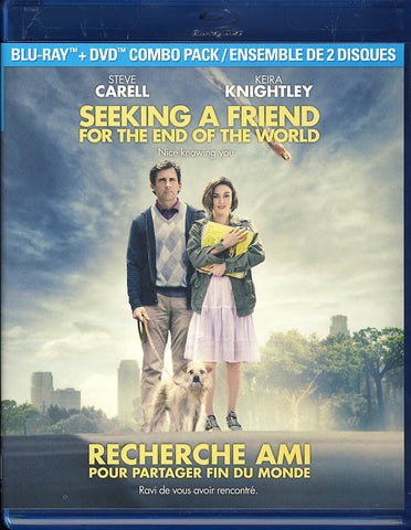 Seeking A Friend For The End Of The World (Blu-Ray/DVD) (Bilingual)(Blu-ray) BLU-RAY Movie