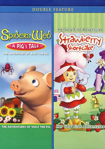 Spider s Web: A Pig s Tale / Strawberry Shortcake (Double Feature) DVD Movie