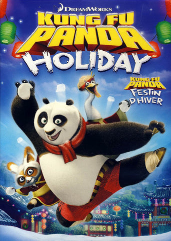 Kung Fu Panda Holiday (Bilingual) DVD Movie