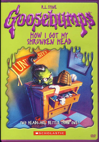 Goosebumps - How I Got My Shrunken Head DVD Movie