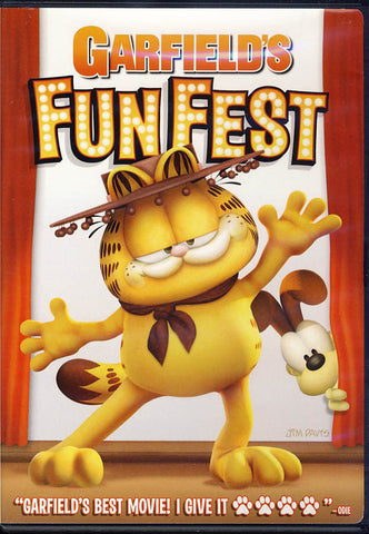 Garfield's Funfest DVD Movie