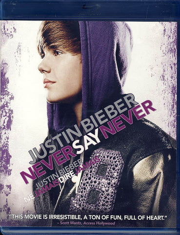 Justin Bieber - Never Say Never (Blu-ray)(Bilingual) BLU-RAY Movie