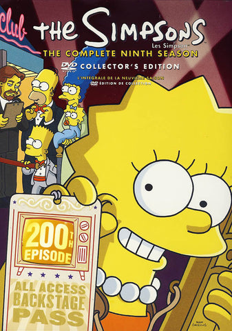The Simpsons: The Complete Ninth (9) Season (Bilingual) (Boxset) DVD Movie