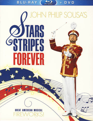 Stars & Stripes Forever(Blu-ray + DVD) (Blu-ray) BLU-RAY Movie