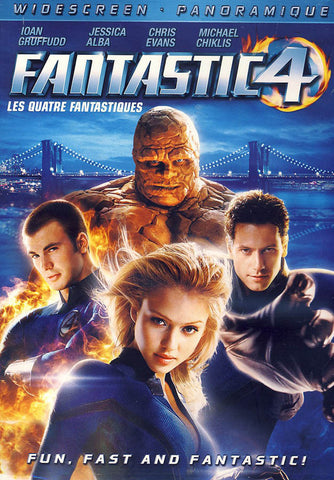 Fantastic Four (4) (Widescreen) (Bilingual) DVD Movie